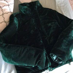 Emerald Puffer Jacket